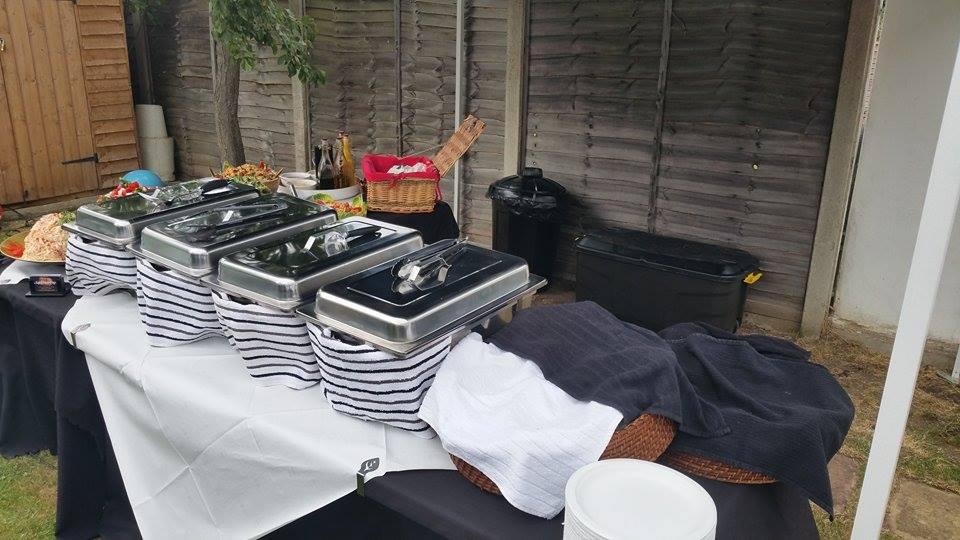 Hog Roast Set Up