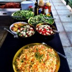 Selection of Homemade Salads