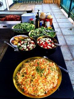 Selection of Homemade Salads