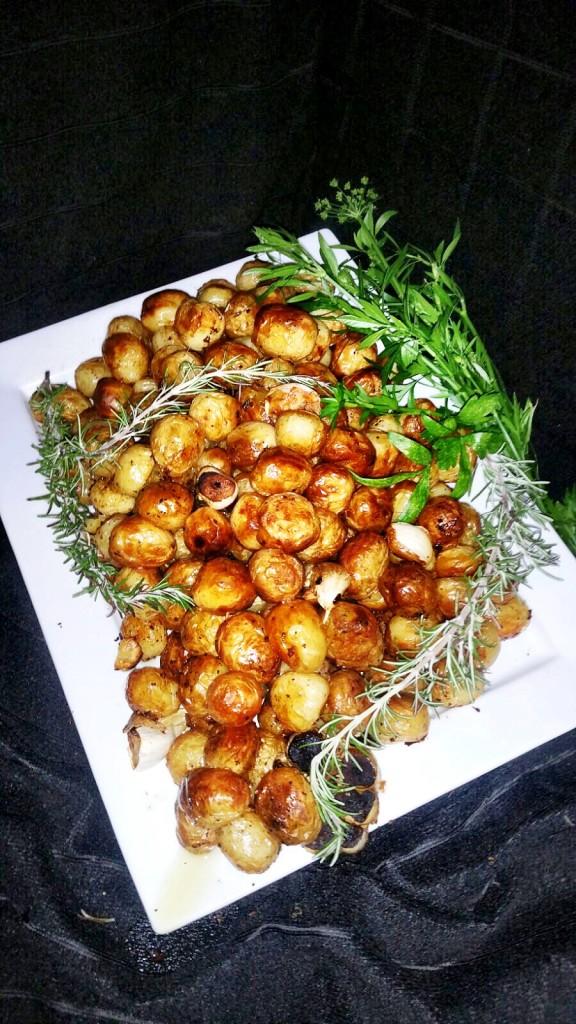 Fluffy Roast Potatoes