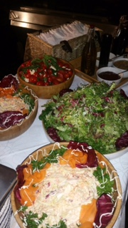 Selection Of Salads And Coleslaw