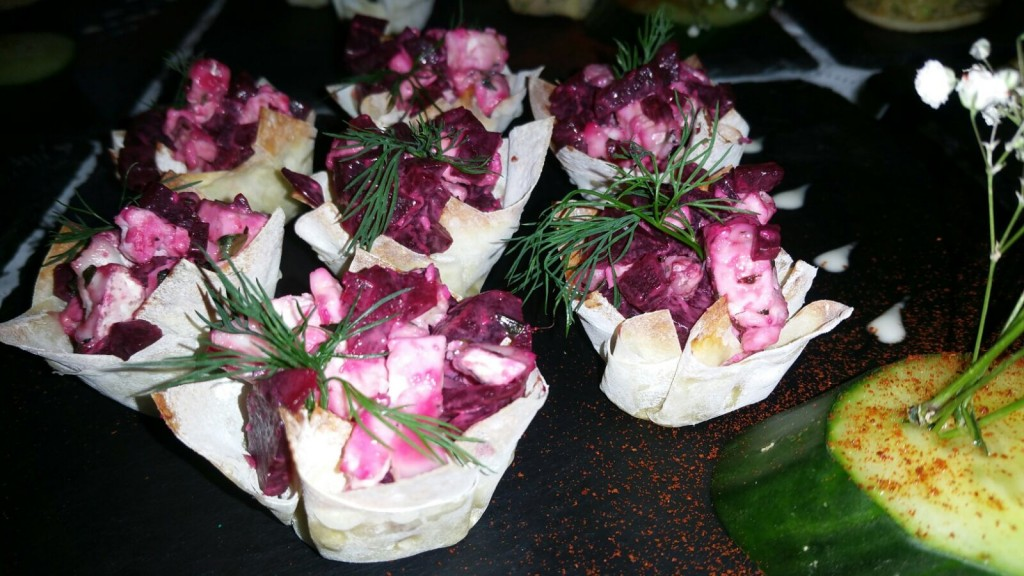 Some of Our Finest Canapes