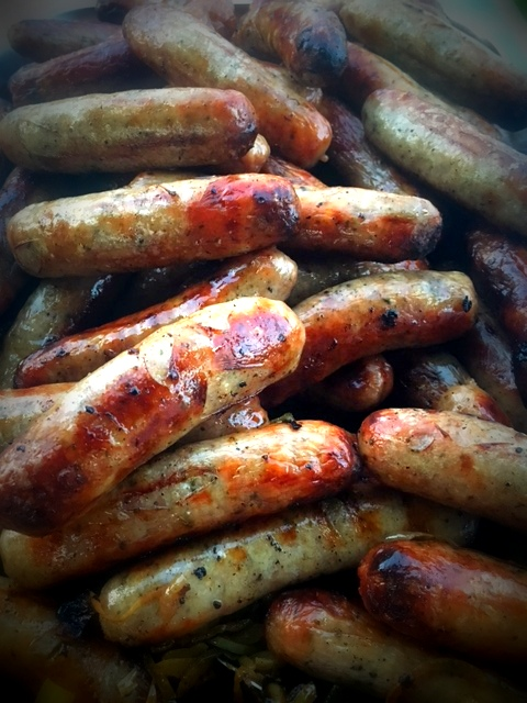 BBQ Menu - Sausages