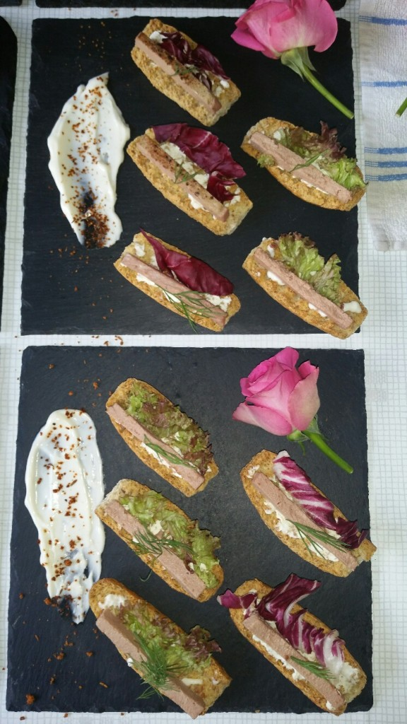 Selection of Canapes