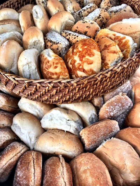 Mixture of Bread Rolls