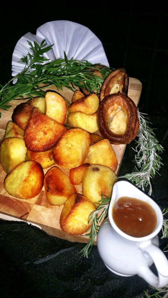 Fluffy Roast Potatoes